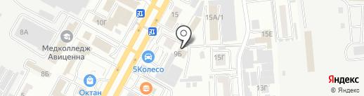 РЕОТЕК на карте Ставрополя