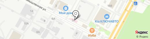 Дом ламината и паркета на карте Ставрополя