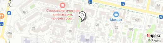 Навигатор-ЮГ на карте Ставрополя
