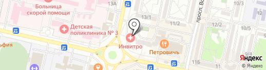 Теплоизол26 на карте Ставрополя