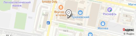 Angel на карте Ставрополя