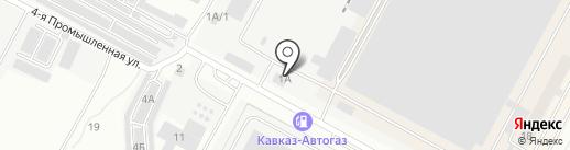 Евразия-Трак на карте Ставрополя