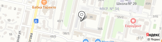 Релакс на карте Ставрополя