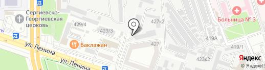 Ставропольский таможенный пост на карте Ставрополя