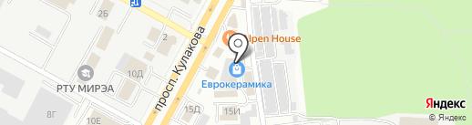 XL-PIPE на карте Ставрополя