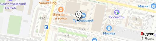 Трапеза на карте Ставрополя