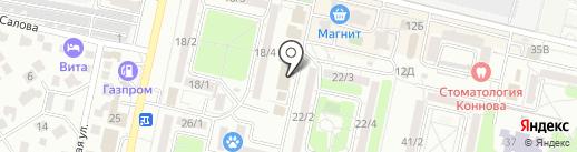 Мебельное бюро на карте Ставрополя