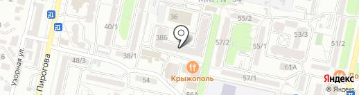Викта на карте Ставрополя