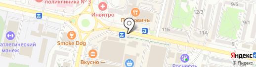 Зеленая Миля на карте Ставрополя