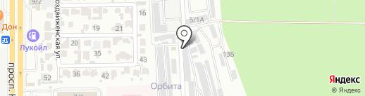 Автоritet на карте Ставрополя
