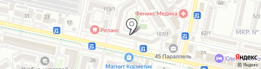 Ракурс на карте Ставрополя