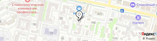 Ставропольремонтсервис на карте Ставрополя