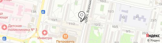 Гармония на карте Ставрополя