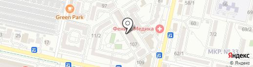 Миссис Хадсон на карте Ставрополя
