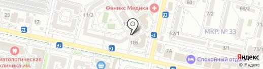 Поиск на карте Ставрополя