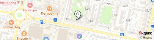Комильфо на карте Ставрополя