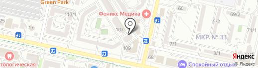 Адвокатский кабинет Дорошенко Р.А. на карте Ставрополя