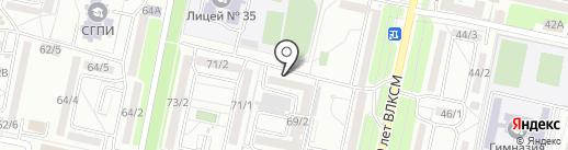 Mery Queen на карте Ставрополя