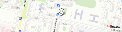 Кураторгъ на карте Ставрополя