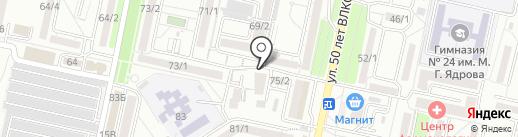 New ton на карте Ставрополя