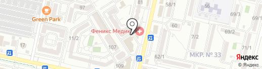 Видеостудия Дмитрия Кошкарева на карте Ставрополя