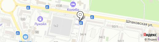 ГЕФЕСТ на карте Ставрополя