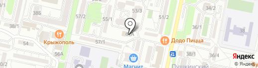 Строй Бат на карте Ставрополя