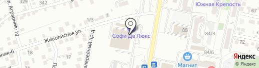 МИР КРОВЛИ на карте Ставрополя