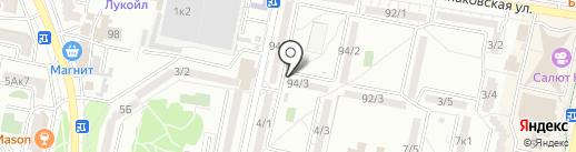 Продукты у дома на карте Ставрополя
