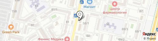Апрель на карте Ставрополя