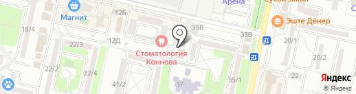 Культурный знак, АНО на карте Ставрополя