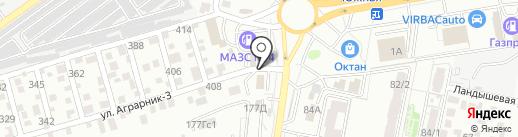 Плюс/Минус на карте Ставрополя