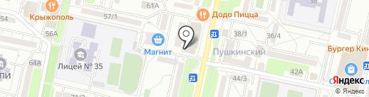Алкомаркет+ на карте Ставрополя