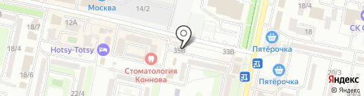 Кабинет остеопатии доктора Асмолова на карте Ставрополя