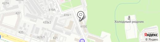 Лидер на карте Ставрополя