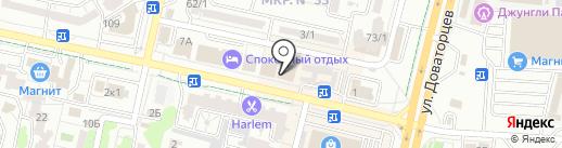 Подарочник Фима на карте Ставрополя