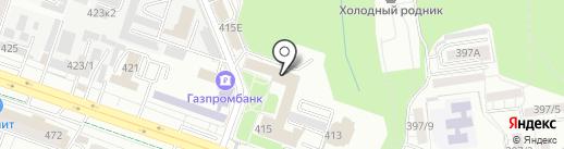 Администрация г. Ставрополя на карте Ставрополя
