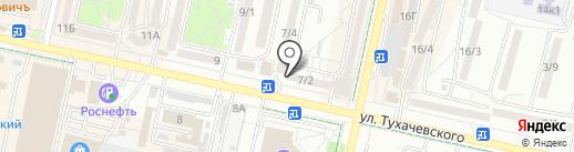 Золотая шкатулка на карте Ставрополя