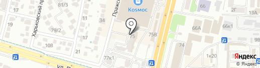 Экопан Ставрополье на карте Ставрополя