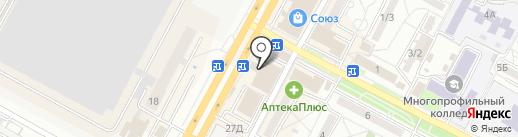 Магазин горячей выпечки на карте Ставрополя
