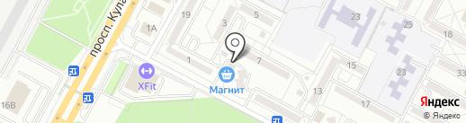 Добрый жук на карте Ставрополя