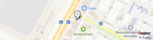 New Леди на карте Ставрополя