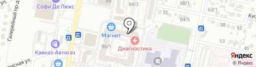 Завиток на карте Ставрополя