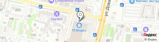 ЛЕНТА на карте Ставрополя