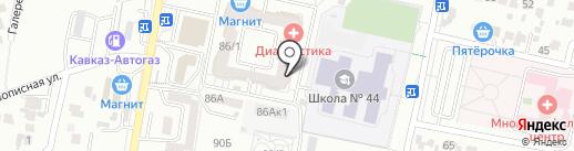 Рыбный день на карте Ставрополя