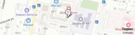 Детский Регион на карте Ставрополя