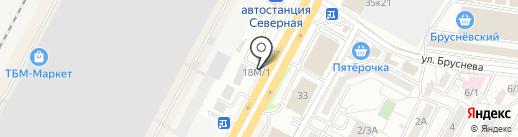 Империя Запчастей на карте Ставрополя
