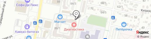 Матрёшка Beauty на карте Ставрополя