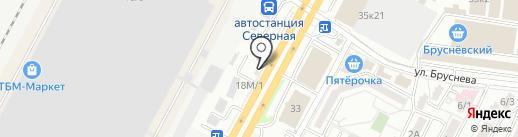 Кекс Шоп на карте Ставрополя