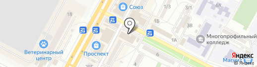 Qiwi на карте Ставрополя
